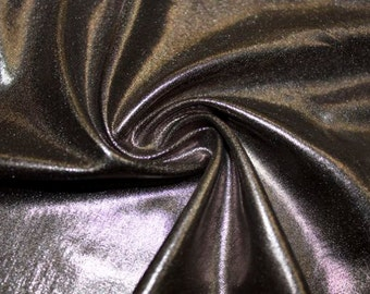Silver Pleather Faux Leather Shiny Medium Weight 8 Ounce Fabric Stretch Lycra Spandex By The Yard