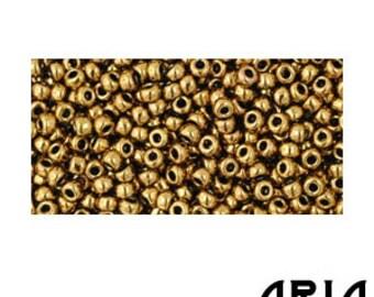 ANTIQUE BRONZE (223): 11/o Toho Japanese Seed Beads (10 grams)