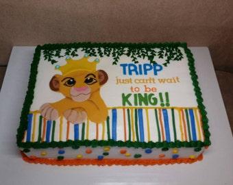 King cake baby Etsy