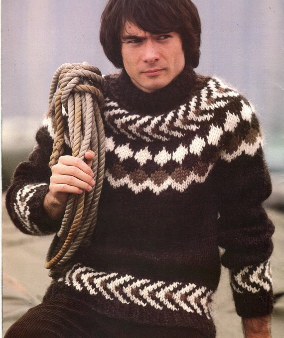 Icelandic Sweater Knitting Pattern : Knitting Pattern Book ICELANDIC LOPI SWEATERS 30