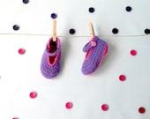 Mary Jane baby ballerina *handmade in crochet* shoe custom made