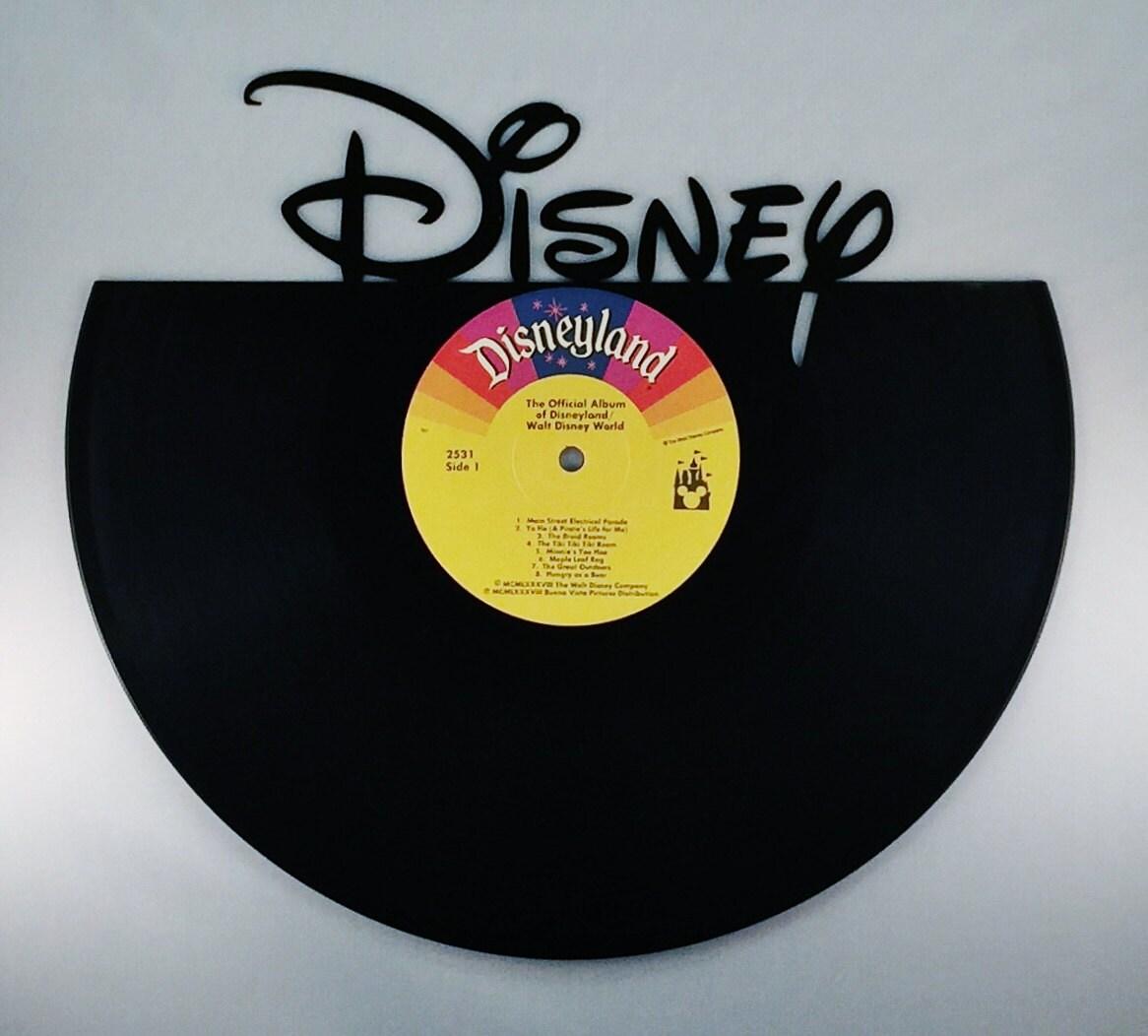Recycled Vinyl Record DISNEY Wall Art