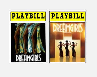 Theater / Show Charm - Playbill  - DREAMGIRLS