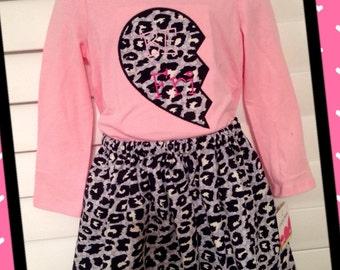 Custom Girls Skirt/Shirt sets