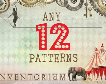 Choose ANY 12 patterns