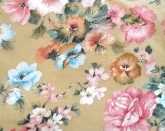 Floral Corduroy