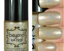 Holy Grail - Holographic Cool Nude Polish