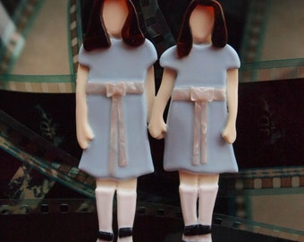 The Shining Twins Brooch