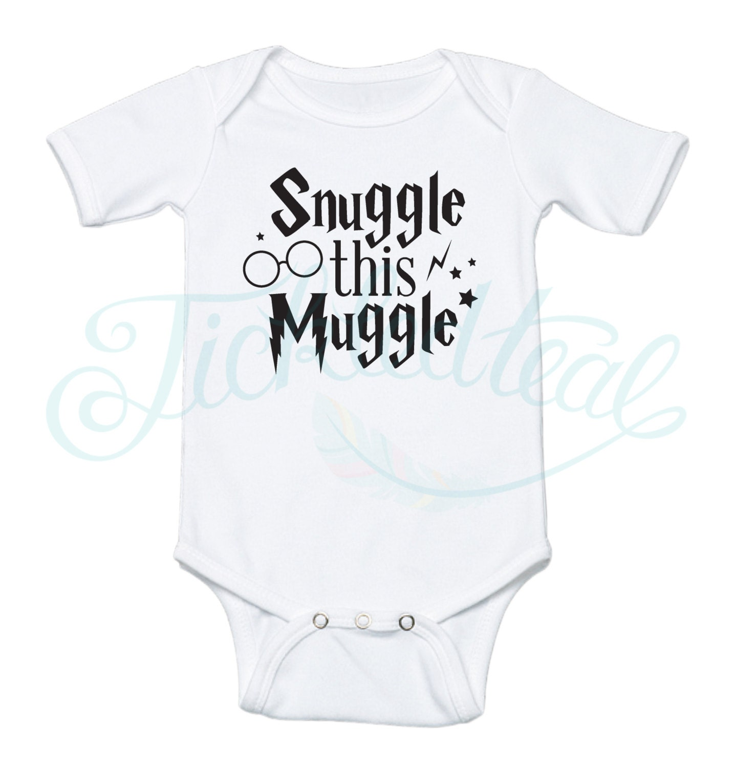 Snuggle this Muggle Baby Onesie Harry Potter inspired Baby