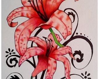 Tiger Lilies 3