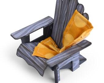 New! Sizzix ScoreBoards Bigz XL Die - Chair, 3-D Adirondack by Eileen Hull
