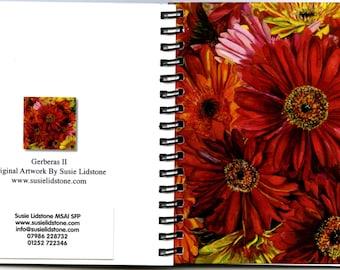 Gerberas II Square Notebook