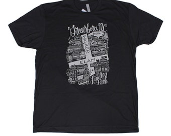 Greensboro North Carolina Lindley Park T-Shirt by Home State Apparel