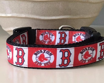 Dog Collar- Boston Red Sox
