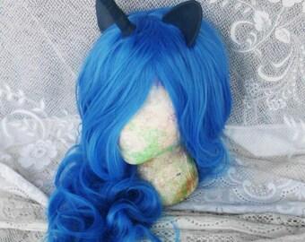 Unicorn Wig, Nightmare Moon Princess Luna, MLP Costume My Little Pony,cosplay Pony Halloween, Unicorn Wig, Unicorn Costume