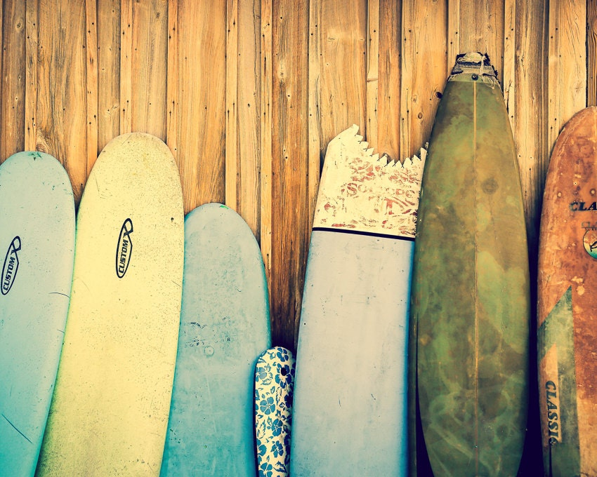 Surf decor surfboard art beach decor surfboard photography for Surf decoration