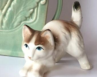 Vintage Kitten Figurine