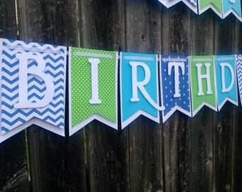 Banner, Birthday Banner, Happy Birthday Banner, Happy Birthday  Boy Banner 1st Birthday,Happy First Birthday Banner,