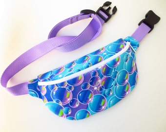 Bubble Print Fanny Pack