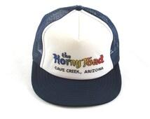 Vintage Horny Toad Snapback Hat - Cave Creek, Arizona