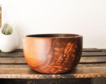 Warm Exotic Orange Bowl