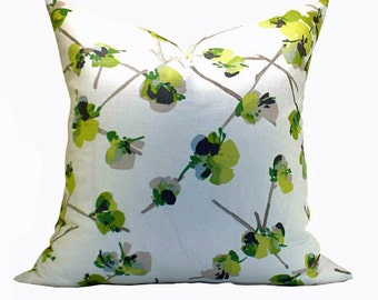 Keiko pillow cover in Cilantro