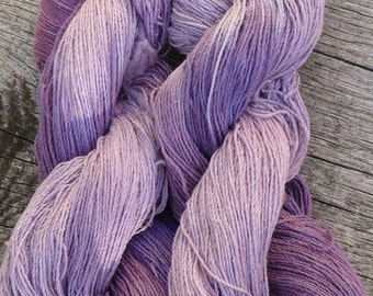 Pure RAW SILK, Fine 4 ply / Laceweight, 100 gms, 600 mts Mollycoddle Yarns
