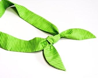 how to make a bandana headband stay