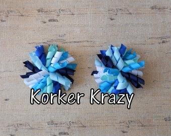 Blue Mini Korker Bows
