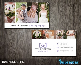 Photography templates photography business cards business photography business card template business card for photographers photoshop templates psd bc020 accmission Images