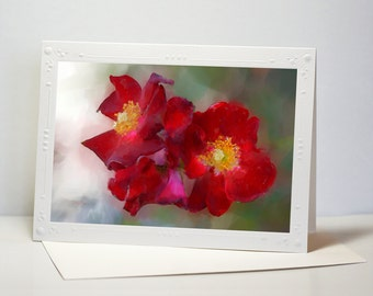 Set of Flower Cards from Original Art Print  #4