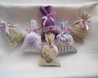 Provence Lavender bags: 6 bags - Provence Collection