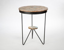 Popular items for bistro table on etsy - Table ronde exterieur metal ...