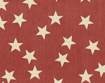 Limited Edition Stars (Red) by Whistler Studios for Windham Fabrics, 1/2 yard, 40707-2