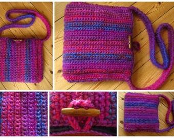 Purple Purse Purple Handbag Purple Bag