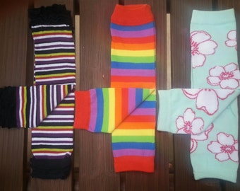 Baby Girl Leg Warmers - 1 Available in each design