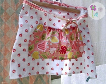The 'Peggy' Pinny, peg bag alternative, housewife apron  ONE AVAILABLE