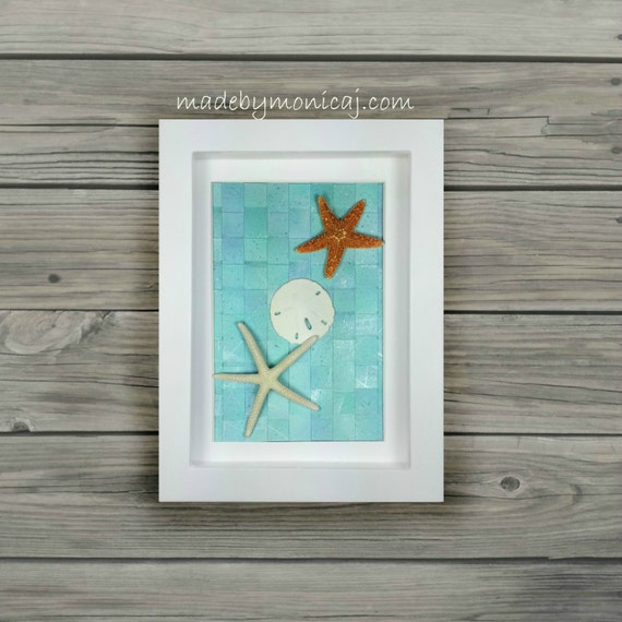 Beach Wall Decor For Bedroom : Items similar to seashore inspired wall decor for your