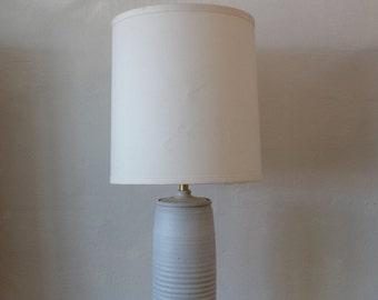 Bob Kenzie Mid Century Earthenware Lamp
