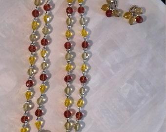 Vintage Vogue Necklace Set