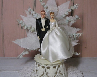 Wedding Cake Topper 1970