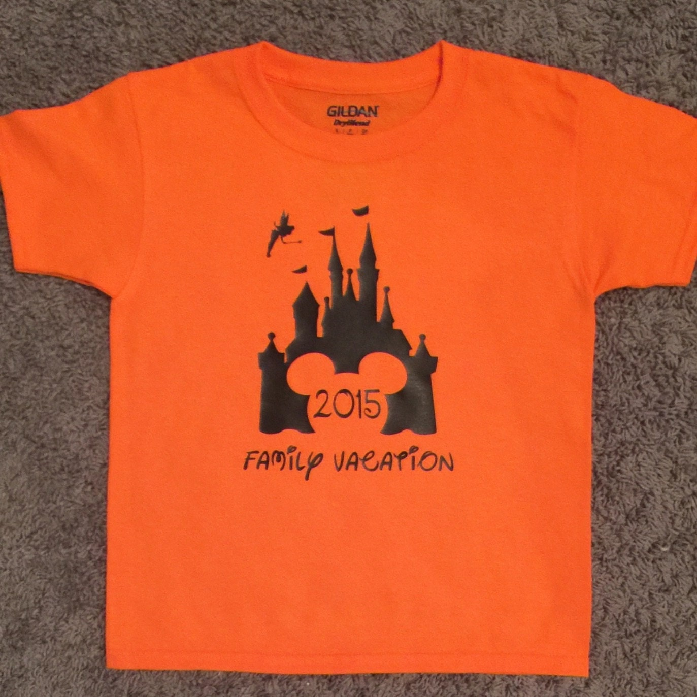 Disney family vacation short sleeve t shirt for Great short vacation ideas