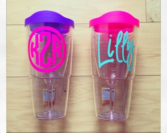 Personalized 16oz Tervis Goblet Tumbler