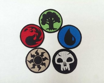 Magic the Gathering Land Symbol Embroidery Patch ***ONE ONLY***