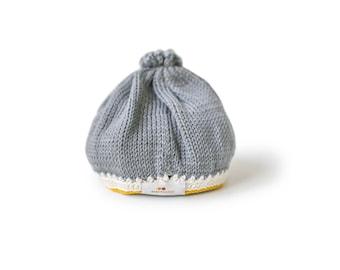 Signature Baby Hat: Stone Mustard