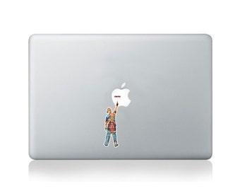 Graffiti Writer Paint Roller Vinyl Sticker for Macbook (13/15) or Laptop