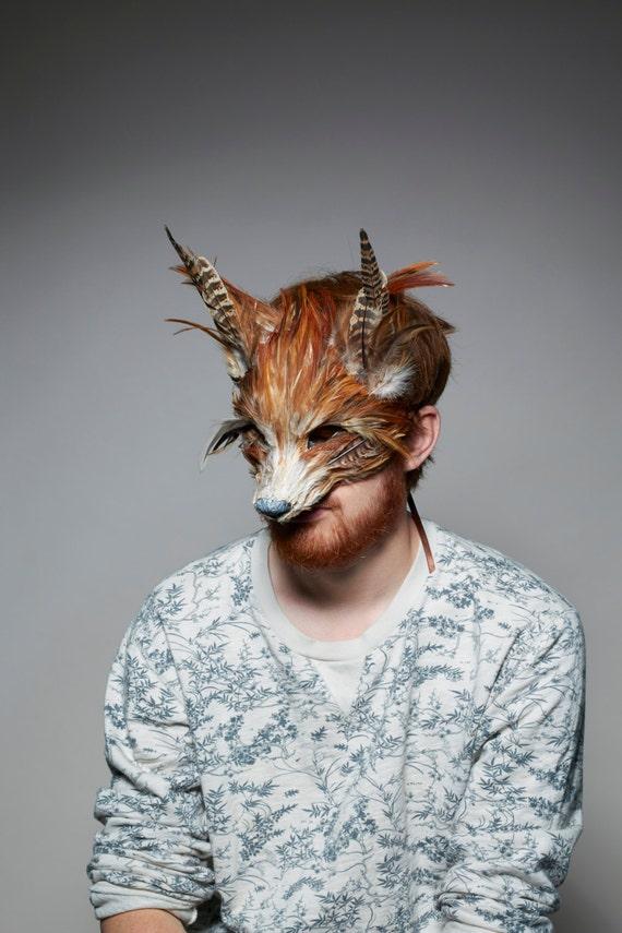 luxury red fox mask woodland fox mask festival fox. Black Bedroom Furniture Sets. Home Design Ideas