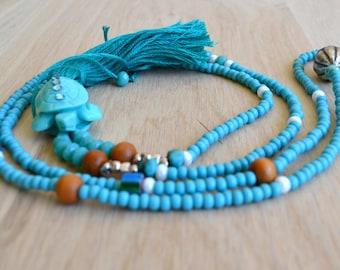 The Turtle Sea Blue