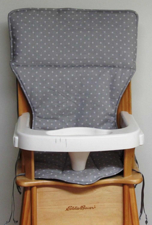 Eddie Bauer Replacement High Chair Pad High Chair Cover Pale