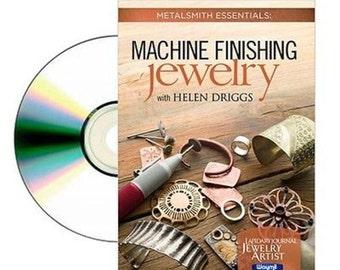 DVD Machine Finishing Jewelry By Helen Driggs Polishing Jewelry Instructional WA 780-021